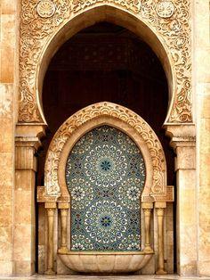 Mosquée Hassan II !   Casablanca Maroc