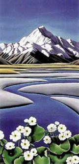 Diana Adams Mount Cook Canvas Print