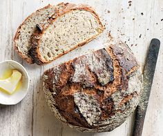 No-Knead Seeded Morning Bread | Recipe by Donna Hay