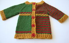 """Previously known as """"Yet to be named cardigan"""", the name of this pattern has been changed to Yikes Stripes!"""