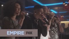 1x9- After a successful meeting, Delphine joins Empire and then joins, Lucious, Jamal, Hakeem, Tiana and Cookie on stage for an impromptu performance of You're So Beautiful.