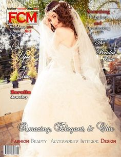 """Fashion Couture Magazine: Fashion Couture Magazine """"The Bridal Issue"""" Vol.2, No.3 , $8.20 from MagCloud"""