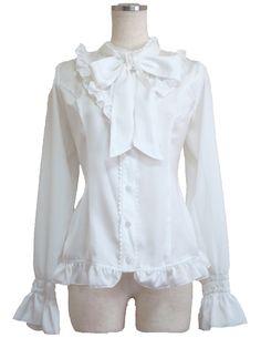 Lolita Gothic blouse mail order - ATELIER-PIERROT studio clown