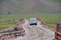 Brücke in der Mongolei