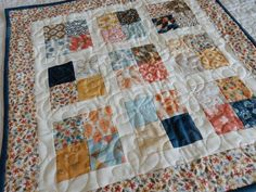 Scrappy Four-Patch ... by SherriQuilts | Quilting Pattern - Looking for your next project? You're going to love Scrappy Four-Patch Table Topper by designer SherriQuilts. - via @Craftsy
