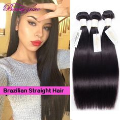 Annabelle Hair Mink Brazilian Virgin Hair Straight 4 Bundles 8a Unprocessed Brazillian Straight Virgin Hair Tissage Bresilienne