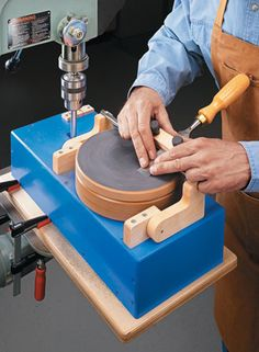 Drill Press Sharpening Station | Woodsmith Plans
