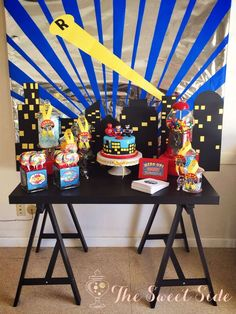 Super Hero/Batman/Spiderman/Superman Birthday Party Ideas | Photo 2 of 12 | Catch My Party