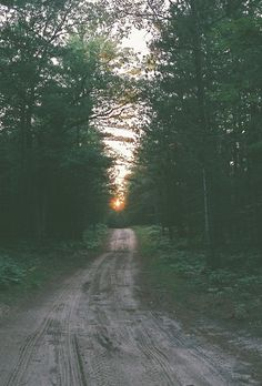 """""""Down the dirt road I go. Where to? You wouldn't know...I don't."""""""