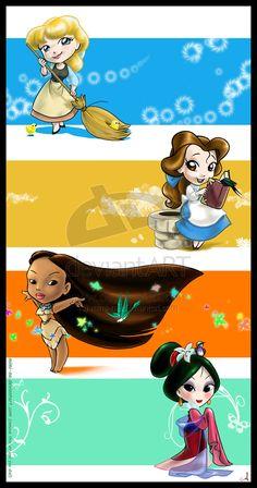 princesses | Disney Bound