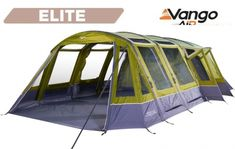 The massively popular Vango Illusion 800xl features Vango's AirBeam technology and is ideal for those requiring a large family tent with plenty of living space.