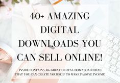 40+ Amazing Passive Income Downloads You Can Create and Sell Online!  Well hello there my fellow passive income lover!   Inside i've created a short list of 40+ great digital downloads that with a little practice and time you could learn to create yourself and sell online.   Discover the list RIGHT HERE!  https://www.evaknows.com/home/2017/8/18/40-amazing-passive-income-downloads-you-can-create-and-sell-online