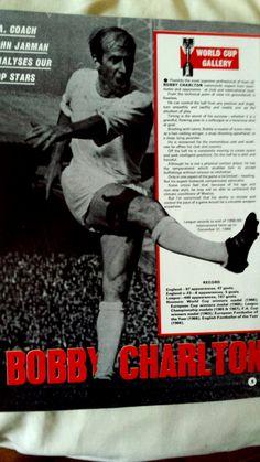 Bobby Charlton, Olay, Manchester United, World Cup, Magazines, Choices, England, The Unit, Football