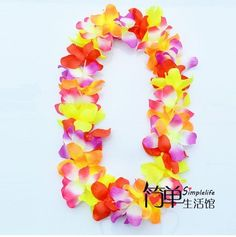 Hawaiian Flower Lei $20.67 - 50 pieces / lot (US $0.42 ea) (not as shown) free shipping