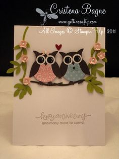 Stampin' Up! Demonstrator - Cristena Bagne From Gettin' Crafty: Punch Punch Punch... Art