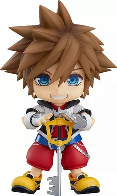 · Would you like to own one anime Good Smile Sora Figure? Come here! · Add cool features to your room with these gorgeous Figure! · Made from Finished PVC Coating. · Moe Energy has all kind of anime figures and cute stuff you'd love to collect! As an 🌸 Anime & Harajuku Store, you can get Free Shipping for orders over $35 here! #KingdomHearts #anime #cool via @moeenergyofficial Sora Kingdom Hearts, Kingdom Hearts Figures, Figurines D'action, Anime Figurines, Diamond Comics, Mighty Ape, Thing 1, Good Smile, Darling In The Franxx