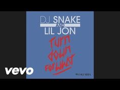 DJ Snake, Lil Jon - Turn Down for What (Audio) - YouTube  Love the beat!