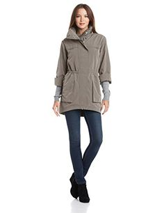 New Trending Outerwear: ANORAK Womens Classic Anorak Jacket, Moonrock, X-Large. ANORAK Women's Classic Anorak Jacket, Moonrock, X-Large  Special Offer: $128.00  344 Reviews Nylon Anorak dusk color jacketWater repellentCoated polyester lining