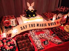 magic themed birthday party