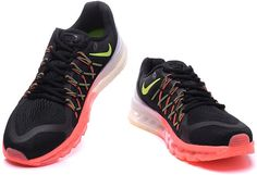 Air Max 2015 Shoes Green Black Grey Orange0
