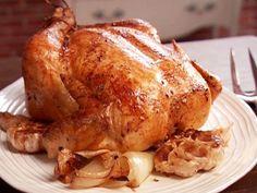 Slow-Roasted Garlic Chicken
