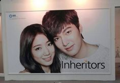 The Inheritors official drama poster from SBS Contents Hub - Shin Hye & Lee Min Ho #Heirs
