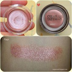 """Maybelline color tattoo """"pink gold no:65"""