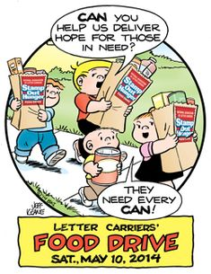 NALC National Letter Carrier Food Drive