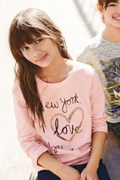 Love Heart T-Shirt (3-16yrs) from Next