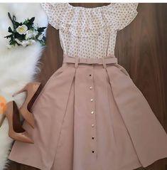 59 New Ideas For Moda Femenina Vestidos Dresses Modest Dresses, Modest Outfits, Skirt Outfits, Casual Outfits, Dress Casual, Maxi Dresses, Cute Outfits With Skirts, Casual Shoes, Modest Wear