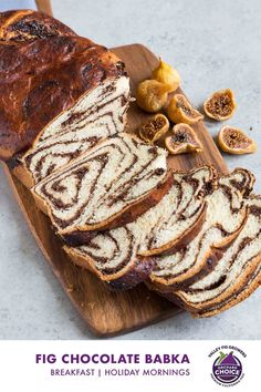 If you've wondered how to make babka, this version of the popular bread by The Little Epicurean features a ribbon of chocolate and Orchard Choice and Sun-Maid California Figs running through it. #valleyfig #chocolatebabka Chocolate Babka, Love Chocolate, Chocolate Recipes, Dried Fig Recipes, Babka Recipe, Dried Figs, Americas Test Kitchen, Egg Wash, Dry Yeast