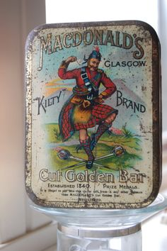 MacDonald's Tin with wonderful graphics,