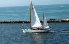 SEA DIAMOND is a classic 90'/27.4m Abeking + Rasmussen ketch motor sailor that has been meticulously restored and maintained. She is a joy to inspect! Contact All Ocean Sailing Yachts.
