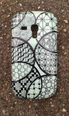 Zentangle phone case
