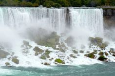 The Horseshoe Falls, also known as the Canadian Falls, is part of Niagara Falls, on the Niagara River. Approximately 90% of the Niagara River, after diversions for hydropower generation, flows over Horseshoe Falls. The remaining 10% flows over the American Falls. It is located between Terrapin Point on Goat Island in New York State, and Table Rock on the Ontario side of the falls. 99% of Horseshoe Falls is located in Ontario, Canada with the remainder in New York State, United States of…