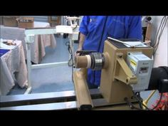 Different methods of holding wood on a lathe