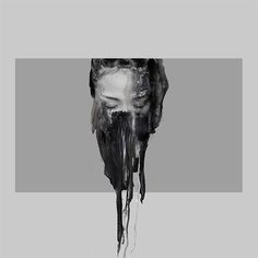Fine artist Januz Miralles is also a digital artist, illustrator, and painter who merges multiple painting techniques with digital photo manipulation and photography. Graffiti, Street Art, Photocollage, A Level Art, Illustration, Abstract Portrait, Glitch Art, Texture Painting, Paint Texture