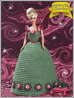 Barbie Crochet: Frog Prince, The Fairy Tale Collection. Pattern