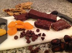 Home-made Protein Bars (Apricot, Fig & Cherry)