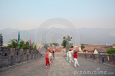 Zhongguodama Dancing On The Wall - Download From Over 24 Million High Quality Stock Photos, Images, Vectors. Sign up for FREE today. Image: 42667661