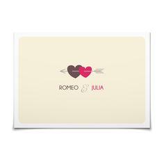Antwortkarte Amors Pfeil in Vanille - Postkarte flach #Hochzeit #Hochzeitskarten #Antwortkarte #kreativ #modern https://www.goldbek.de/hochzeit/hochzeitskarten/antwortkarte/antwortkarte-amors-pfeil?color=vanille&design=eebfa&utm_campaign=autoproducts