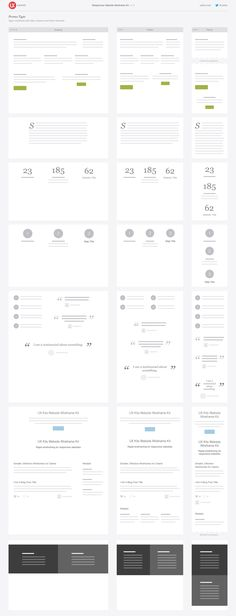 Snap  iOS 8 UI Wireframe Kit   Pinterest   Wireframe  Free and Ui ux Responsive Website Wireframe Kit     UX Kits