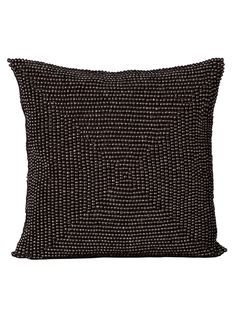 Nourison Square Beaded Pillow