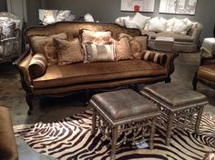 French sofa from Massoud.