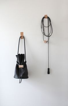I love this as a bag, though also as an installation.