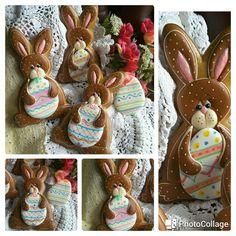 Bunny Easter cookies