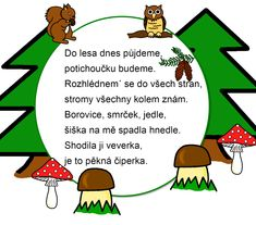 Les, básnička předškoláci, lesní zvířata Fall Crafts For Kids, Sustainable Design, How To Know, Kids And Parenting, Interior Design Living Room, Design Trends, Kids Fashion, Classroom, Songs