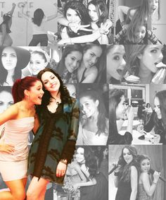 Ariana Grande and Liz Gillies- they should so play in wicked. ari wud b Glinda, and Liz elphaba