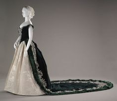 Court Presentation Ensemble - Charles Fredrick Worth  c.1888 The Indianapolis Museum of Art