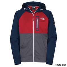 The North Face Mens International Full-Zip Hoodie - Estate Blue | Gander Mountain #Sochi